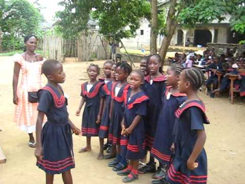 Song by Liberian School Children