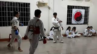 Kumite  - Cương Nhu Karate do Thống Nhất.