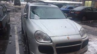 Porsche Cayenne РАЗБИТ / СУД с ЖКХ(Лопунов Михаил Юрист ООО