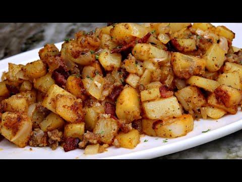 Breakfast Potatoes Recipe | Breakfast Skillet Recipe | Brunch Ideas