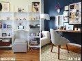Homepolish + Style Girlfriend Home Office Makeover | Office Redo | Home Decor Makeover