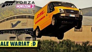 Tyle mocy, taka przyczepność, już wiem jak oni to robią! DHL Tuning | Forza Horizon 2