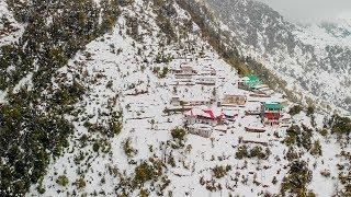 Mcleod Ganj Snowfall 2019 | Dharamshala | Aerail drone shots