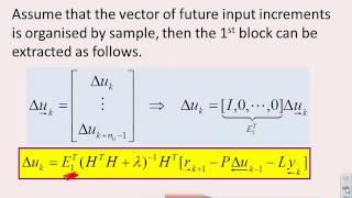 Generalised Predictive Control  11 - Dynamic matrix control (DMC)