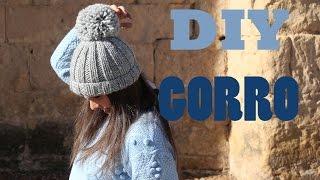 DIY Como hacer gorro de lana (patrón gratis)