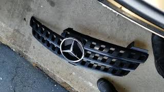 How to Upgrade Mercedes Benz Front Hood Grille