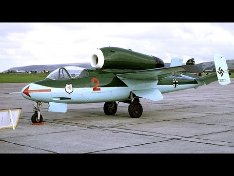 Heinkel 162 WW II Era Training Film for Red Army Air Force Pilots