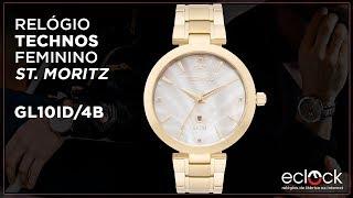 ca420d23e280b Relógio Technos Feminino Elegance St Moritz GL10ID 4B - Eclock ...