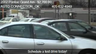 2002 Pontiac Grand Am GT1 sedan - for sale in OKLAHOMA CITY,