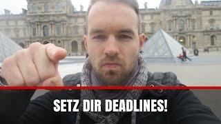 TS203 - Deadlines - der ultimative Produktivitätsboost I PARIS