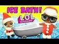 LOL Surprise Dolls Color Changing Ice Bath! Featuring Splash Queen, Boogie Babe, and Lil Countess!