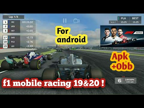Download F1 Mobile Racing 19&20 Mod Apk+obb For Android | How To Download F1 Mobile Racing Mod Apk