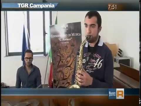 TG3 Conservatorio  Martucci di Salerno - Dipartimento scuola di Jazz - 20 ottobre 2014