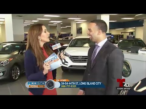 Bryan Rodriguez En Acceso Total En Vivo En Telemundo   Hyundai Of Long  Island City   New York
