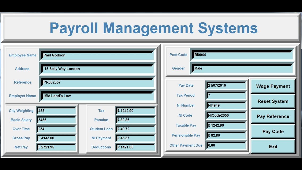 How to Create Payroll Management Systems in Python - Tutorial 1