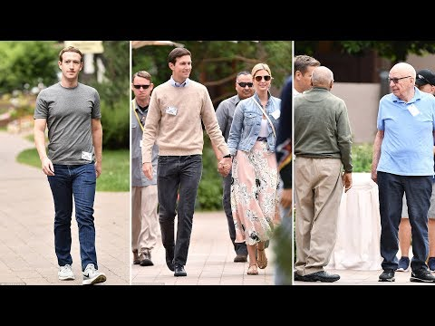 Mark Zuckerberg arrives in Sun Valley for showdown with Ivanka and Jared