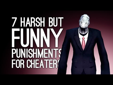 7 Harsh But Funny Punishments for Cheating in Games