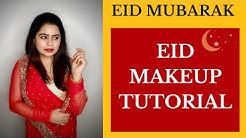Easy EID Makeup Tutorial || Simple Makeup Tutorial || Saree Makeup Tutorial || Anuradha P Nair