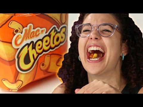 People Try Burger King's Mac N' Cheetos