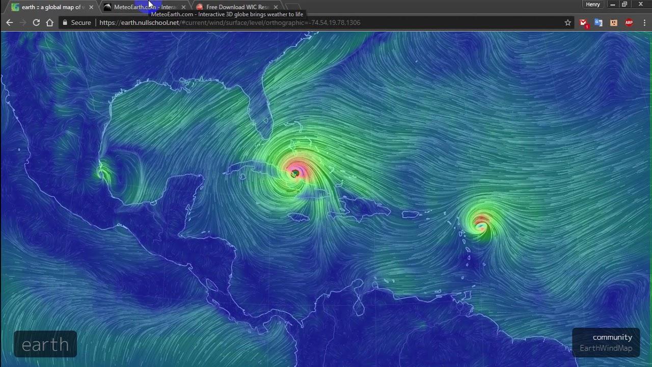 Live Earth Wind Map.Hurricane Irma Path Map Live Where Is Hurricane Irma Now Youtube
