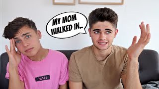 HIS MOM WALKED IN ON US... (STORY TIME) Video