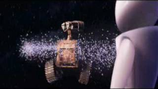 walle and eva flying scene