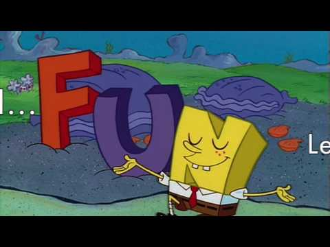 Spongebob FUN Song Lyric Video