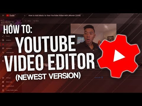 How To Use YouTube Editor And Add Music To Your Videos! (NEW 2020)