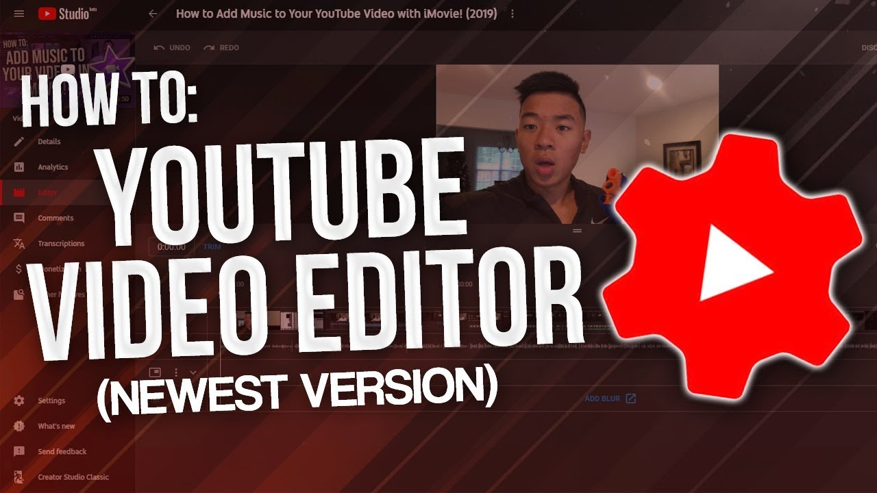 How To Use Youtube Editor And Add Music To Your Videos Updated 2020 Youtube