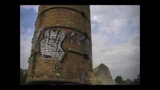 Wyburzenie komina w Swarzędzu