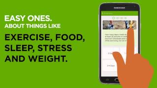 Coach by Cigna on Samsung Galaxy S5 Mobile App
