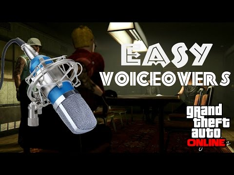 Easy Way to Add Voice Overs to your GTA Machinima: GTA Tutorial
