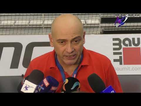 """Constantin Ștefan: """"Toți Jucătorii Dau Totul Pentru Familia Dinamo"""" Declarație După Dinamo-Kadetten"""