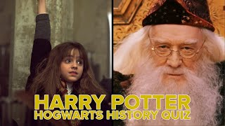 Can You Pass This Hogwarts History Quiz