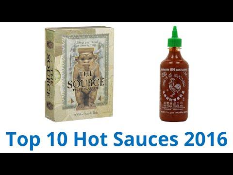 10 Best Hot Sauces 2016