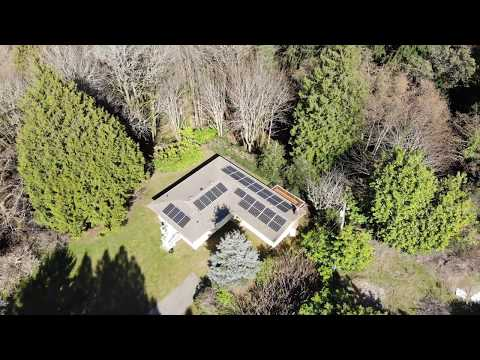 9.6 kW Itek Energy / SolarEdge Solar PV System (32 modules) On Vashon Island, WA