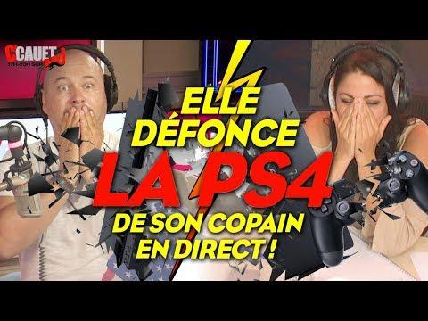 ELLE DÉFONCE LA PS4 DE SON COPAIN EN DIRECT
