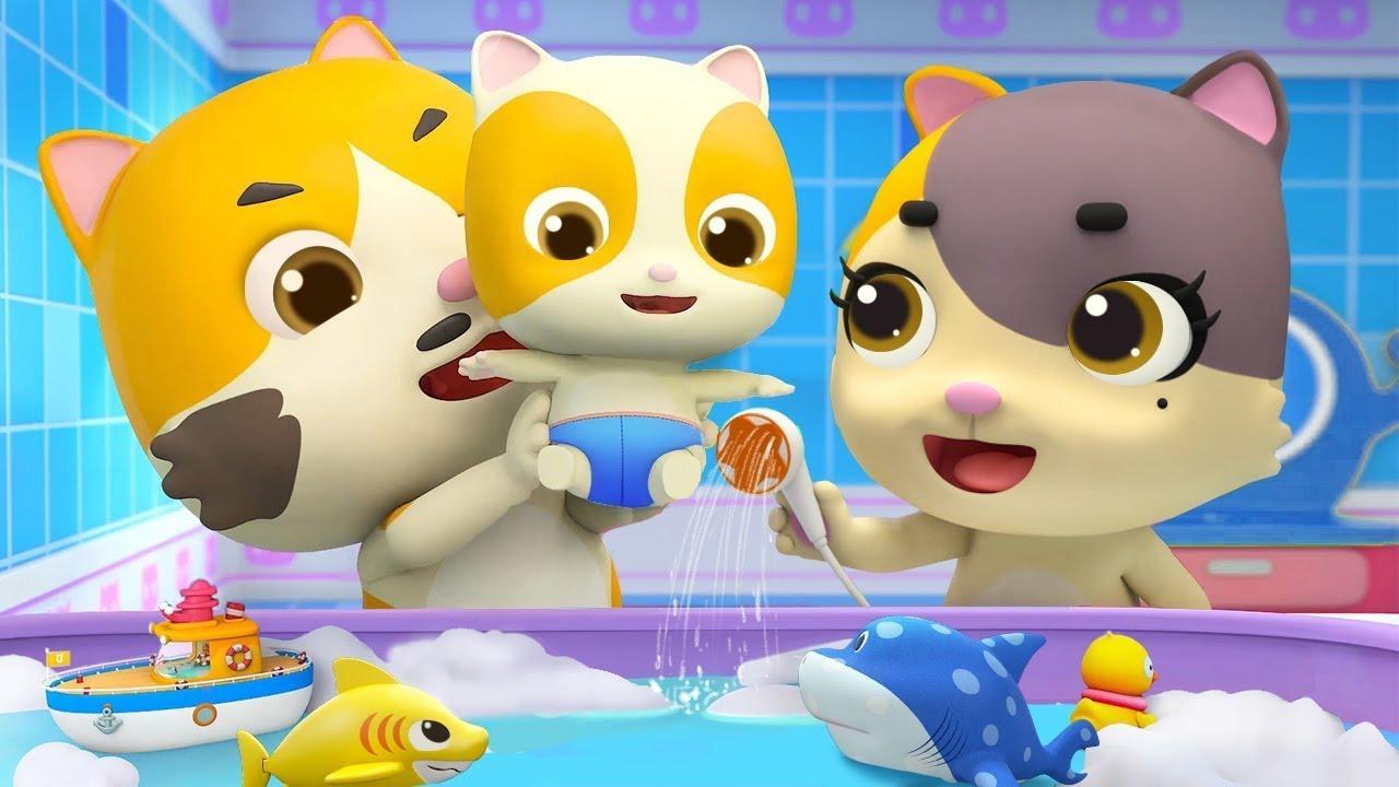 おふろ大好き☆おふろのうた 詰め合わせ | 赤ちゃんが喜ぶ歌 | 子供の歌 | 童謡 | アニメ | 動画 | ベビーバス| BabyBus