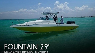 Used 2004 Fountain 29 Sports Cruiser for sale in New Port Richey, Florida