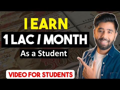 How I Earn 1 Lac Per Month as a Student In Pakistan   Earn Money Online  Make Money Online from Home