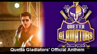 Quetta Gladiators | Chaa Jaaye Quetta | 2016 Official HD PSL Theme Song | Faakhir Mehmood