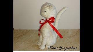 Кошка принцеса ч.3. Мастер класс-вязание кошки Авроры.Вяжем крючком