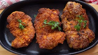 Keto Fried Chicken & Breadcrumbs | Keto Recipes | Headbanger