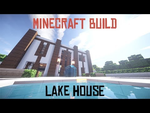 how to build a lake house in minecraft