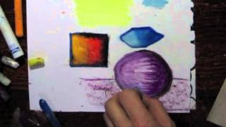 Green Sea Turtle - Art Lesson Plan-k-5 - Part 2 - Color Theory - Warm And Cool Colors