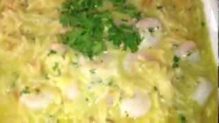 #139 ) Orzo Risotto / Shrimp