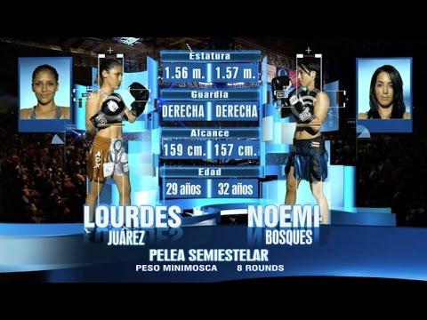 Lourdes 'Pequeña Lulú' Juárez vs Noemí Bosques