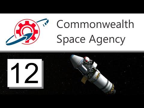 Kerbal Commonwealth Space Agency - 12. Polar Orbit Science (KSP 1.0.4)