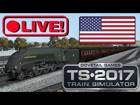 Train Simulator 2017 [100 Coaches] A4 Union Of South Africa - USA Tour (Live Stream)