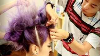 How To Style A Mohawk -モヒカンの作り方- by Yuya Nara (SHIMA) Thumbnail